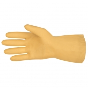 Memphis 5190E Unlined Canners Gloves - 18 mil Latex - Straight Cuff