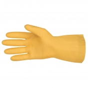 Memphis 5199E Canners Gloves - 18 mil Unlined Latex - Straight Cuff - XL