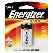 9 Volt Energizer Battery, Max Line, 1-pack
