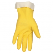 Memphis 5250 Unsupported Latex Gloves - Yellow - 15 mil