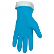 Memphis 5290PB Latex Gloves - 18 mil - Flock Lined - Straight Cuff