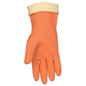 Memphis 5430 Unsupported Neoprene/Latex Blend Gloves - 28 mil - Flock Lined - Straight Cuff