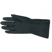 Memphis 5435 Unsupported Neoprene Gloves - 30 mil - Flock Lined - Black