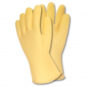 Memphis 5500 Unsupported Canners Gloves - 50 mil Unlined Latex - X-Large