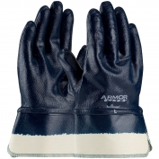 PIP 56-3176 ArmorLite Nitrile Dipped Gloves with Interlock Liner and Smooth Finish on Full Hand