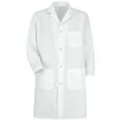 Red Kap 5700WH Men's Four Button Front Lab Coat