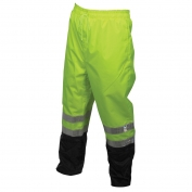 River City 598SPW Luminator Breathable Polyester/PU Black Bottom Rain Pants
