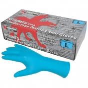 Memphis 6012 NitriMed-Xtra Disposable Nitrile Medical Grade Gloves - 6 mil - Powder Free - Blue