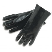 Memphis 6212 Single Dipped PVC Coated Gloves - Interlock Lined - Smooth Finish