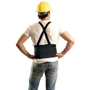 OccuNomix Super Econo Maxx Back Support with Detachable Suspenders