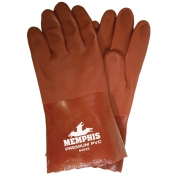 Memphis 6452S Premium Double Dipped PVC Coated Gloves - Nitrile Reinforced - 12