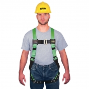 Miller HP (High Performance) Non-Stretch Harness with Pull-up Adjustment Style