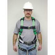 Miller HP (High Performance) Non-Stretch Harness Pull-up Adjustment Style