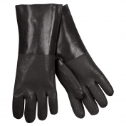 Memphis 6514S Double Dipped Textured PVC Gloves - 14