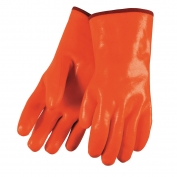 Memphis 6712F Premium Foam Lined PVC Gloves - Smooth Finish - 12