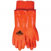 Memphis 6714FF Harbor Master Double Dipped PVC Gloves - Foam and Polar Fleece Lined