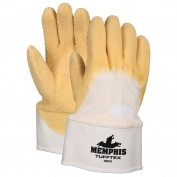 Memphis 6820 TuffTex Premium Rubber Coated Gloves - Jersey Lined - Plasticized Safety Cuff