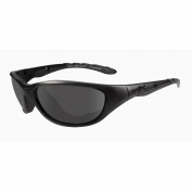 Wiley X AirRage Sunglasses - Matte Black Frame - Grey Lens