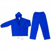 River City 7032 Challanger 2-Piece Rain Suit - Blue