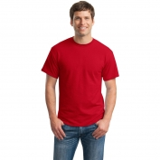 Gildan 8000 DryBlend T-Shirt - Red