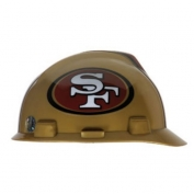 San Francisco 49ers MSA Hard Hat