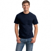 Gildan 8300 DryBlend Pocket T-Shirt - Navy