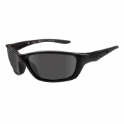 Wiley X Brick Sunglasses - Matte Black Frame - Grey Lens