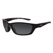 Wiley X Brick Sunglasses - Gloss Black Frame - Polarized Grey Lens