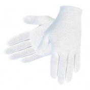 Memphis 8600C Cotton Lisle Inspection Gloves - White