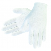 Memphis 8610C Ladies Inspector Gloves - Cotton Lisle - White