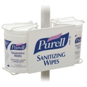 PURELL Sanitizing Wipes Bracket- Double Pole Mount
