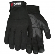 Memphis 903 Grain Goatskin Palm Multi-Task Gloves - Foam Padding - Spandex Back
