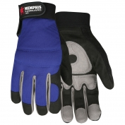 Memphis 905 Multi-Task Gloves - Synthetic Leather Palm - Adjustable Velcro Wrist Closure