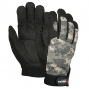 Memphis 905WW Multi-Task Gloves - Synthetic Leather Padded Palm - Digital Camo