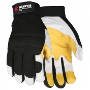 Memphis 906 Multi-Task Gloves - Grain Goatskin Leather Palm - Velcro Closure