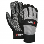 Memphis 909 Multi-Task Gloves - Synthetic Leather Palm with Silicone Spider Web Grip