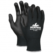 Memphis 9178NF Kevlar Gloves - 13 Gauge Kevlar Shell - Nitrile Foam Coated Palm/Fingers - Black