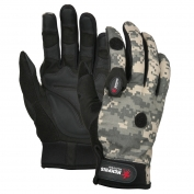 Memphis 924WW Multi-Task Gloves - Synthetic Palm with Padding - 2 LED Lights - Digital Camo