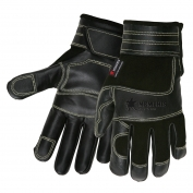 Memphis 925 Multi-Task Gloves - Split Deerskin Back - Grain Cow Palm & Patches