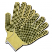 Memphis 9363 Cut Protection Gloves - 7 Gauge DuPont Kevlar Plait - PVC Dots Both Sides