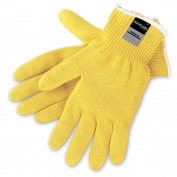 Memphis 9390P Economy Cut Protection Gloves - 10 Gauge DuPont Kevlar Plaited - Yellow