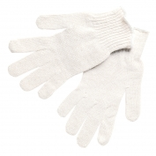 Memphis 9500M String Knit Gloves - 7 Gauge Cotton/Polyester - Hemmed