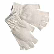Memphis 9509M Fingerless String Knit Gloves - 7 Gauge Regular Weight Cotton/Polyester