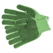 Memphis 9514G String Knit Gloves - 7 Gauge Cotton/Polyester - Two Sided PVC Dots
