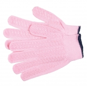Memphis 9614PH Honey Grip Gloves - 13 Gauge Cotton/Polyester Blend - PVC Honeycomb Criss-Cross Palm