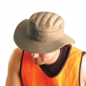 OccuNomix 963 MiraCool Terry Lined Ranger Hat - Khaki