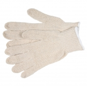 Memphis 9636 String Knit Gloves - 7 Gauge Regular Weight Cotton/Polyester - Natural