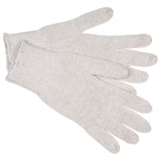 Memphis 9636M String Knit Gloves - 7 Gauge Regular Weight Cotton/Polyester - Natural