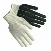 Memphis 9670L String Knit Gloves - 7 Gauge Cotton/Polyester - PVC Palm Coated