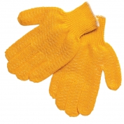 Memphis 9675 Honey Grip Gloves - 7 Gauge Acrylic/Polyester Blend - PVC Honeycomb Criss-Cross